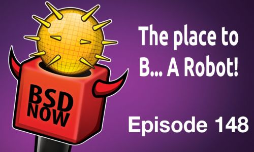 The place to B… A Robot! | BSD Now 148