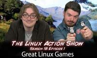 Great Linux Games | LAS | s18e01