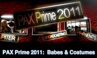 PAX Prime 2011:  Babes & Costumes