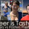 Beer is Tasty: Fosters vs Fosters Premium