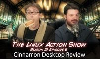 Cinnamon Desktop Review | LAS | s21e08