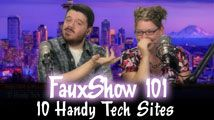 10 Handy Tech Sites | FauxShow 101