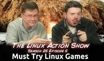 Must Try Linux Games | LAS | s25e05