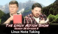 Linux Note Taking | LAS s28e08