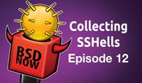 Collecting SSHells | BSD Now 12