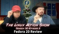 Fedora 20 Review | LAS s30e02