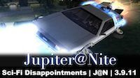Sci-Fi Disappointments | J@N | 3.9.11
