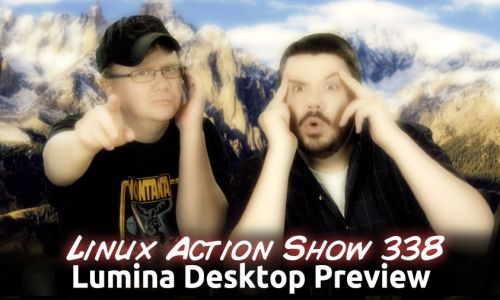 Lumina Desktop Preview | LAS 338