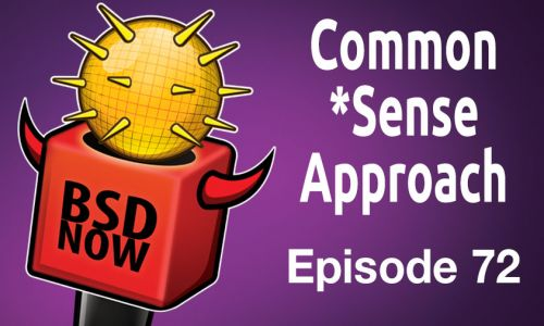 Common *Sense Approach | BSD Now 72