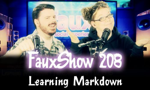Learning Markdown | FauxShow 208