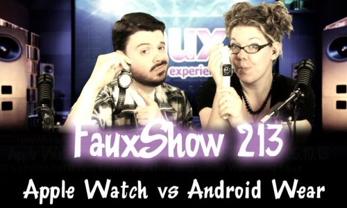 Apple Watch vs Android Wear | FauxShow 213