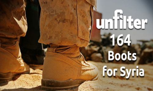 Boots for Syria | Unfilter 164