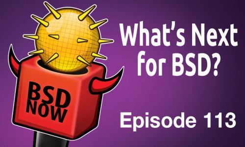 What's Next for BSD? | BSD Now 113