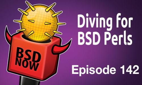 Diving for BSD Perls | BSD Now 142