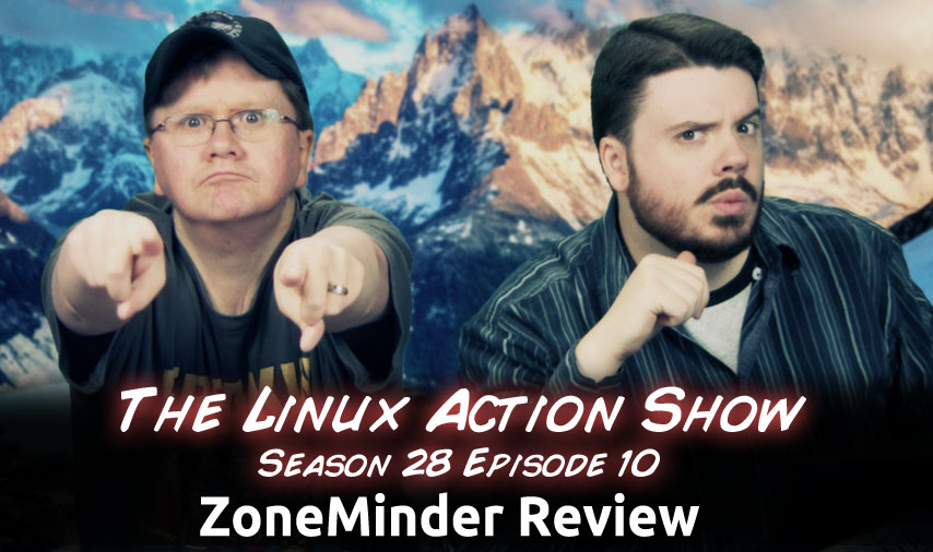 ZoneMinder Review | Linux Action Show s28e10 | Jupiter